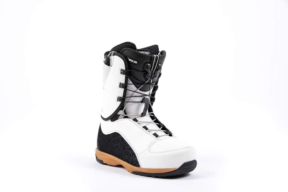 Nitro Snowboards Futura TLS 21 All Mountain Freeride Freestyle Syst/ème de la/çage Rapide pour Femme
