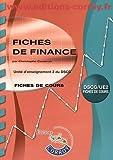 Fiches de finance UE 2 du DSCG - Fiches de cours