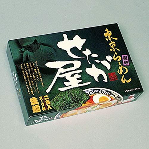 ご当地名店ラーメンミニ 東京ラーメン せたが屋 小 10箱×3合 SP-41