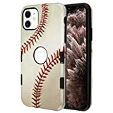 Wydan Case for iPhone 11 Pro Max - Tuff Hybrid Shockproof Case Protective Heavy Duty Phone Cover - Baseball