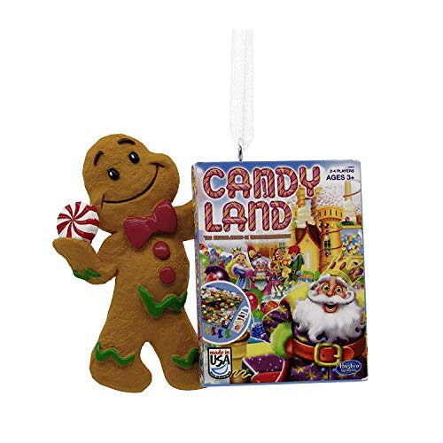 Halmark Candy Land Game Gingerbread Man Christmas Tree Ornament Decoration