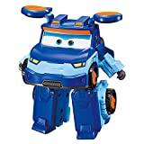 Super Wings -Transforming Toy Figure Leo | 5' Scale | Airplane to Bot | Season 5 New Character | Birthday Toys for 3 4 5 Years Old Kids | Fun Airplane Toys for Preschool Play | Alpha Group