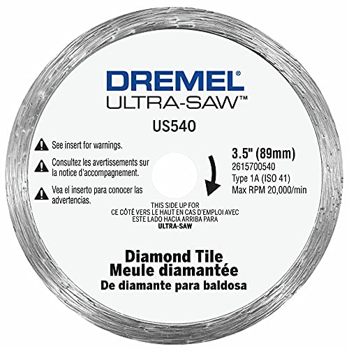Dremel US540-01 Ultra-Saw 8,9 cm Fliesen-Diamantklinge.