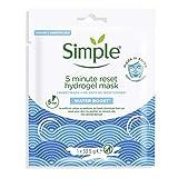 Simple Mascarilla Facial Hidrogel - Water Boost 5 Minutos