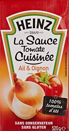 Heinz Sauce Tomate Cuisinée Brique 520 g