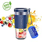 KLOUDI Portable Blender, Cordless Personal Blender Juicer, Mini Mixer, Waterproof Smoothie Blender...
