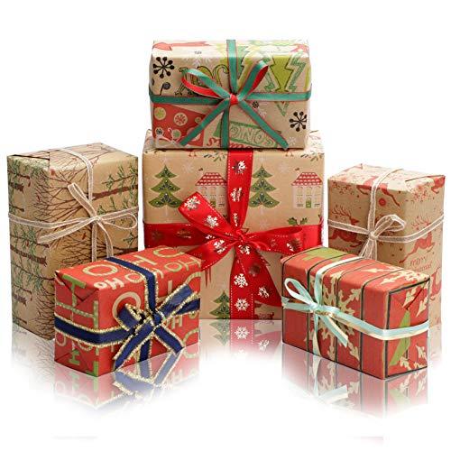 Rollo de papel de regalo...