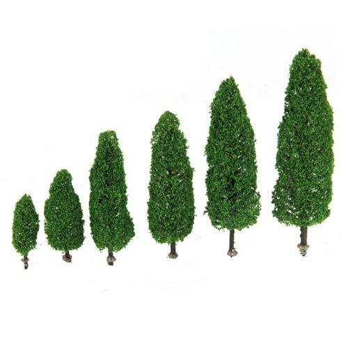 6pcs 2.28 Pulgadas - 5.9 Pulgadas Planta Ejemplar De Cipres