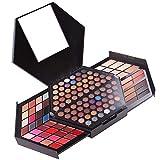 YOLANDEK All in One Makeup Gift Kit - Makeup Set Combination Palette -Ultimate Color Combination - 88 Eyeshadow, 16 Lip Gloss, 2 Blusher, 2 Concealer, 3 Contour Powder,2