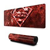 AOOEDM Alfombrilla de ratón Movies Logo Mouse Pad Extended Gaming Printed Mouse Pad Precision Hemming Water-Resistant Non-Slip Rubber Base for Work & Gaming Office & Home Desk