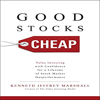 Good Stocks Cheap audiobook cover art