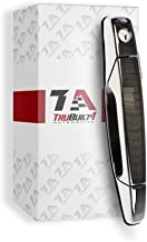 T1A Front Left Driver Side Exterior Chrome Door Handle Replacement for 2007-2013 Chevy Silverado, Suburban, Tahoe, Avalanche, GMC Sierra or Yukon and Cadillac Escalade T1A-22738721