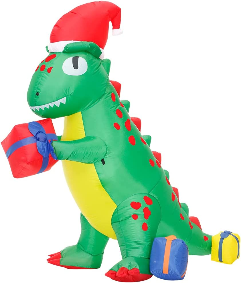 Spring new Ultra-Cheap Deals work DeHasion 6.3ft Christmas Dinosaur in Glowing The Decor