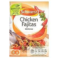 (Schwartz (シュワルツ)) 鶏ファヒータ本物のミックス35グラム (x2) - Schwartz Chicken Fajita Authentic Mix 35g (Pack of 2) [並行輸入品]