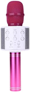 WS-858-1 Mini Microphone Wireless Bluetooth Karaoke Stereo Mic KTV Player USB - 2724651034549