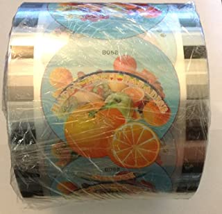 1 Roll BOBA BUBBLE TEA CUP SEAL ROLL FILM SEALS @ 2600 CUPS,printed,nice design
