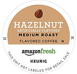 Fragrant medium light roast coffee with hazelnut flavor 80 single serving pods compatible with Keurig brewing machines Made from 100 percentage Arabica coffee Roasted and packed in the U.S.A If you like Green Mountain hazelnut coffee pods, we invite ...