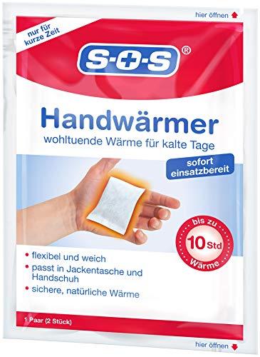 SOS Handwärmer (10 Paar) für Jackentasche und Handschuh | Wärmepads | Handschuhwärmer | Taschenwärmer | Bis zu 10 Stunden Wärme