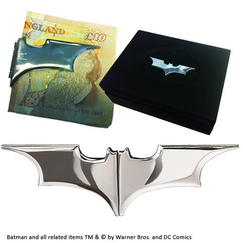 Pince à billets Batarang Noble Collection Chrome