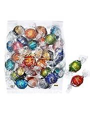 リンツ (Lindt) チョコレート リンドール 10種類アソート 詰め合わせ [Bタイプ] 個包裝 30個入り (ミニリーフレット付き)