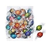 【公式】リンツ (Lindt) チョコレート リンドール 10種類アソート 詰め合わせ Bタイプ 個包装 30個入り (ミニリーフレット付き)
