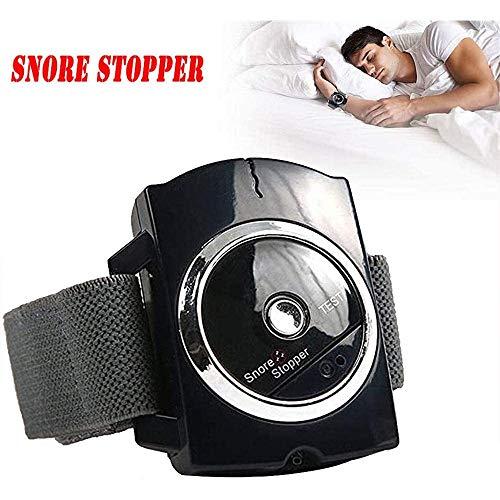MQSS Anti Schnarchen Armband Snore Stop Schnarchstopper Infrarot Entdeckt Anti-Schnarch-Geräte mit Biofeedback Sensor Schlafgeräte