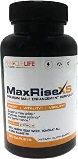 Max Rise XS- Premium Enhancement Complex- Helps With Vigor Vitality Virality- Supports Male Vitality