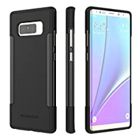 SaharaCase Galaxy Note 8 Case OnlyCase Series Ultra Slim Fit & Protective with Shock-Absorbing Edges & Anti-Slip Grip for Samsung Galaxy Note 8 (2017) - Black