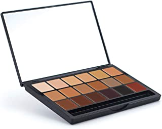 Graftobian HD Glamour Creme Foundation Super Palette - Inclusion Collection