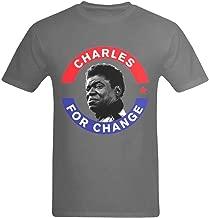 Youranli Men's Charles Bradley for Changes Poster Design Tee-Shirts
