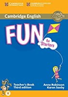 Fun for Starters Teacher's Book with Audio by Anne Robinson Karen Saxby(2015-01-19)