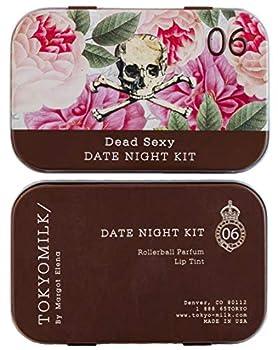 TokyoMilk Dead Sexy Date Night Kit | Includes Citrus Rose Lip Tint and Dead Sexy Eau de Parfum Mini Rollerball