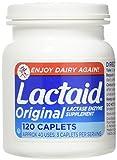 LACTAID Original Caplets 120 ea (Pack of 3)