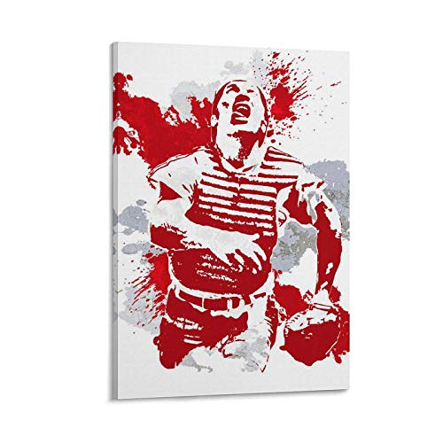 jinwen Johnny Bench Poster Decorative Painting Canvas Wall Art Living Room Posters Bedroom Painting 24×16inch(60×40cm)