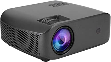 Home Theater, 100‑240V Stereo Audio Convenience Full HD Video Projector for Home(British regulatory)