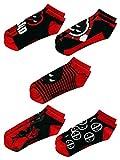 Marvel Deadpool 5 Pack Ankle Socks