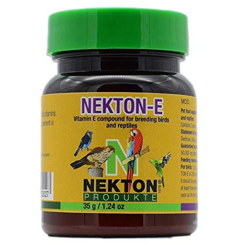 Nekton - E Complément Alimentaire à la Vitamine E pour Oiseaux, 35 g