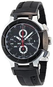 Tissot Men's T048.427.27.057.00 Black Dial T Race Watch image