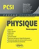 Physique PCSI Conforme au Programme 2013 - Ellipses Marketing - 03/09/2013