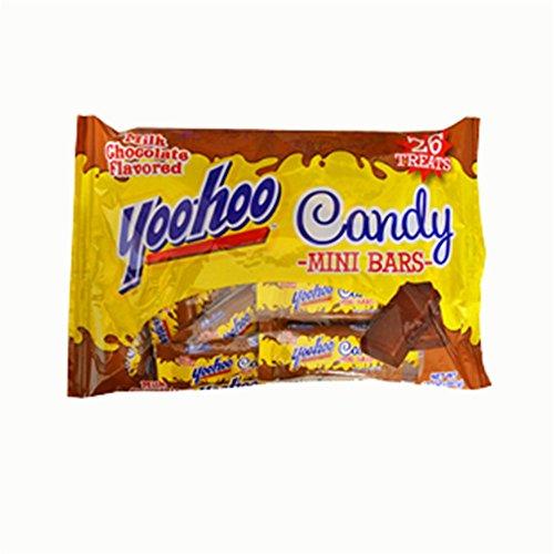 Yoo-hoo Candy Mini Bars Milk Chocolate Flavored 26 Treats 14 Oz. Bag
