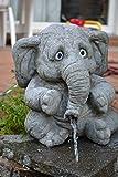 SSITG grande elefante 'Benjamin'–Gárgola–Figura de...