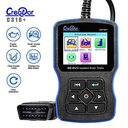 Creator C310+Scanner di codice per BMW/Mini Multi System Scan Tool V11.7 C310 Lettore di Codice C310+Scanner per BMW Strumento Diagnostico Aggiornamento Online
