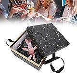 ZJchao Caja de Regalo con Conejo de los Deseos, Creatividad Reutilizable Cajas de Regalo Caja Decorativa Joyas Caramelos Estuche de Perfume para Navidad Cumpleaños Boda(1#)