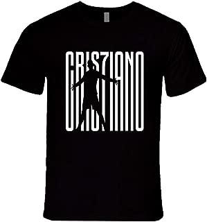 Zomsun Cristiano Ronaldo Juventus CR7 Seria A Soccer Jersey Inspired Custom Fashion Tees