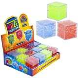 "SRENTA 2"" Puzzle Cube Maze Game Toys, Educational & Stress Relief Toys, Fun Brain Games for Party Favors, Goody Bags, and Prizes, Pack of 12"