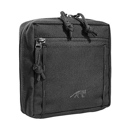 Tasmanian Tiger TT Tac Pouch 5.1 Rucksack Zusatz-Tasche mit Molle-System kompatibel, Zubehör-Tasche für EDC, Werkzeug oder kleine Erste Hilfe Sets, 15 x 15 x 6 cm, Schwarz