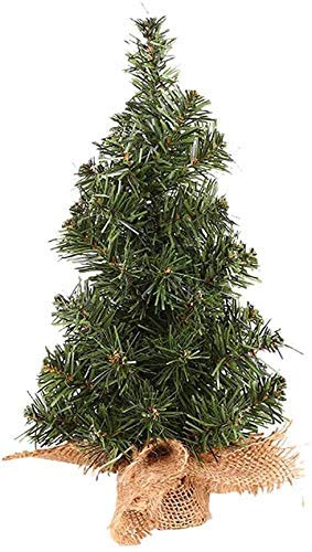 Ybzx Mini Christmas Tree Artificial Tabletop Ornaments Indoor Decor Decorations Christmas For Office Home Shops 20cm 1123 (Size : 20cm)
