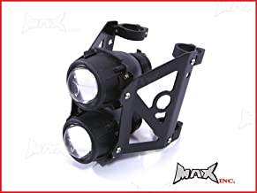 SpeedMotoCo 50mm - 51mm Motorcycle Projector Headlight Streetfighter Cafe Racer Naked Sportbike Streetfighter