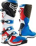 Fox Boots Comp 5, Blu/Rosso, Taglia 9