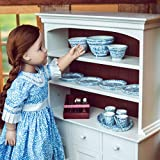 The Queen's Treasures 18 Inch Doll Kitchen Accessory, 25 Piece Silverware, Dishes, and Serving Set, Compatible with American Girl